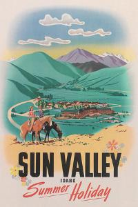 Travel Poster for Sun Valley