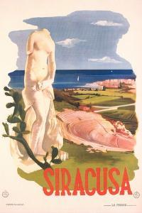 Travel Poster for Syracuse, Sicily
