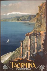 Travel Poster for Taormina
