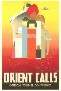 Travel Poster for the Orient
