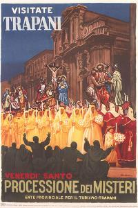 Travel Poster for Trapani