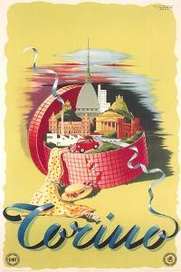 Travel Poster for Turin