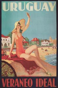Travel Poster for Uruguay