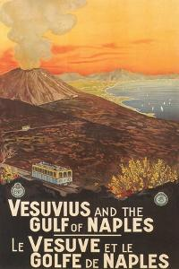 Travel Poster for Vesuvius