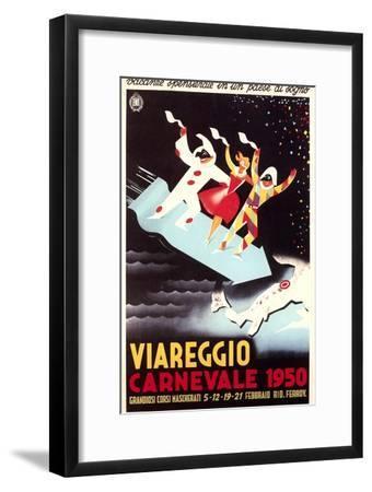 Travel Poster for Viareggio