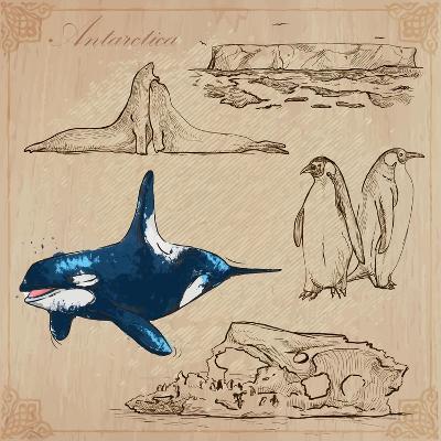 Travel Series: Polar Regions - Antarctica-KUCO-Art Print