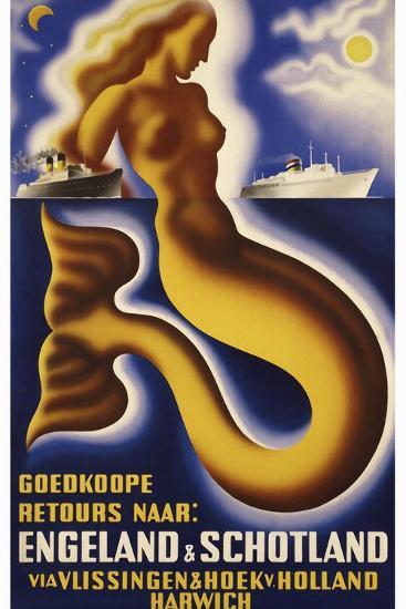 Travel Ship 0127-Vintage Lavoie-Giclee Print