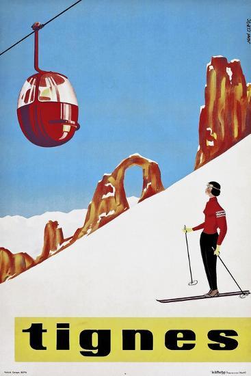 Travel Sports 031-Vintage Lavoie-Giclee Print