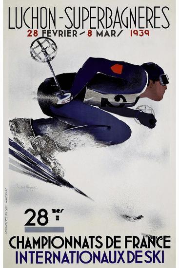 Travel Sports 033-Vintage Lavoie-Giclee Print