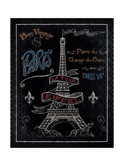 Travel to Paris I-Daphne Brissonnet-Art Print
