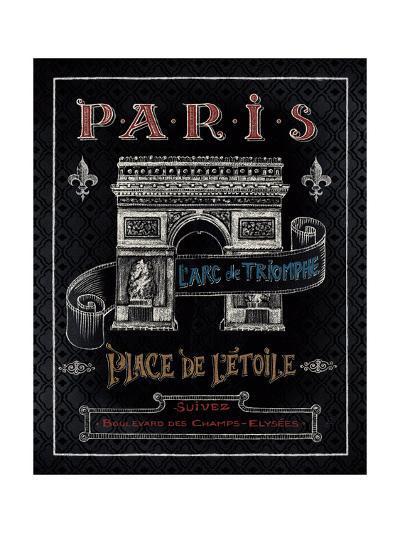 Travel to Paris II-Daphne Brissonnet-Art Print