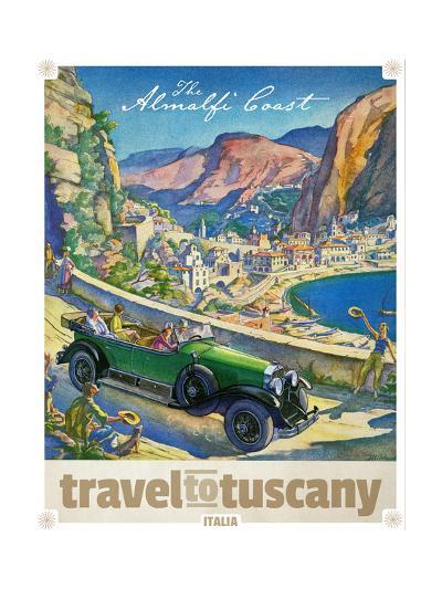 Travel to Tuscany--Giclee Print