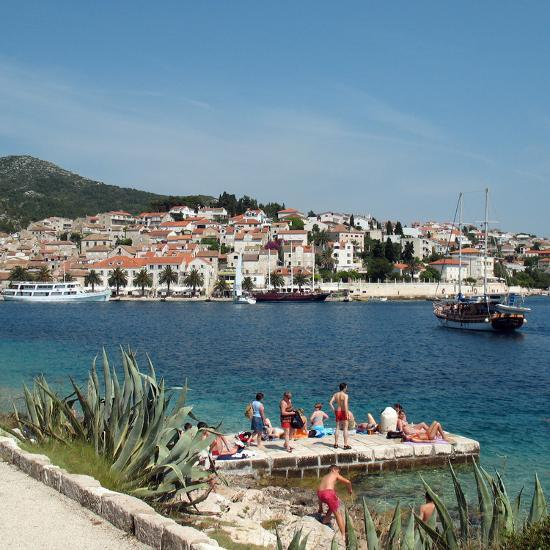 Travel Trip Croatia Island Hopping-Sheila Norman-Culp-Photographic Print