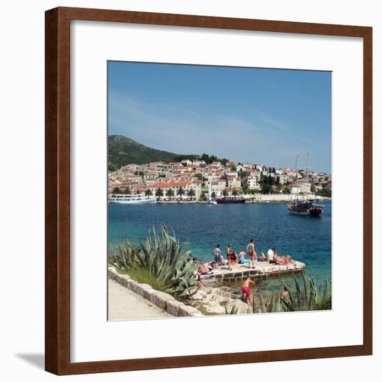 Travel Trip Croatia Island Hopping-Sheila Norman-Culp-Framed Photographic Print