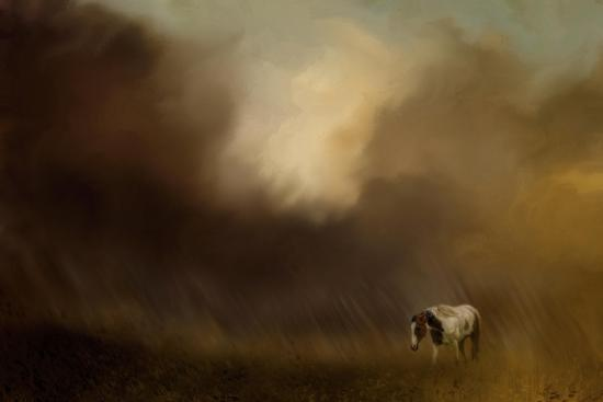 Traveling Through the Storm-Jai Johnson-Giclee Print