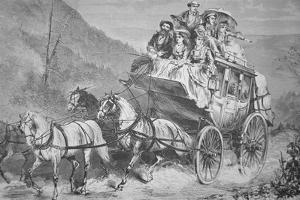 Travelling Through the American West by Concord Stagecoach in the 1860S