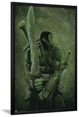 Skaar: Son of Hulk No.11 Cover: Skaar