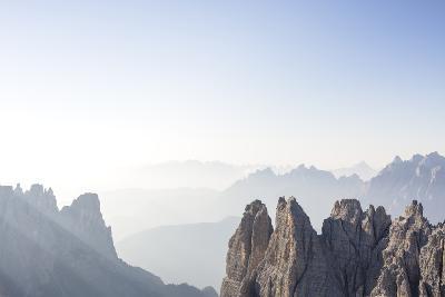 "Tre Cime Di Lavaredo (Drei Zinnen), Sexten Dolomites, Italy: The Via Ferrata ""Paternkofel"" Morning-Axel Brunst-Photographic Print"