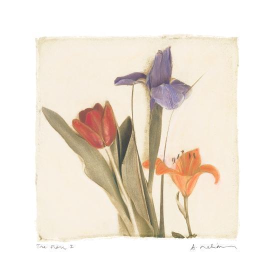 Tre Fiori I-Amy Melious-Premium Giclee Print