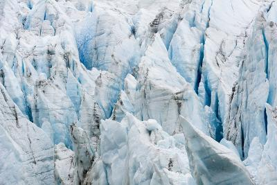 Treacherous Jagged Ice Spires on a Glacier Fracture Zone known as Serac-Jason Edwards-Photographic Print