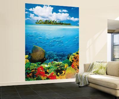 Treasure Island Wall Mural--Wallpaper Mural
