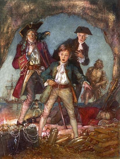 Treasure Island-John Millar Watt-Giclee Print