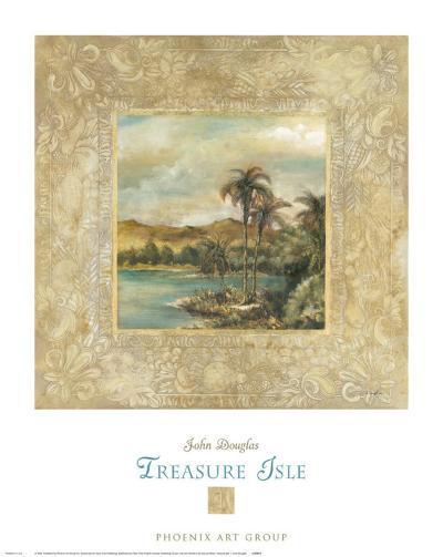Treasure Isle I-John Douglas-Art Print