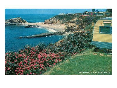 Treasure Isle, Laguna Beach, California--Art Print