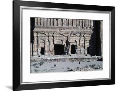 Treasure of Pharaoh or Treasury--Framed Giclee Print