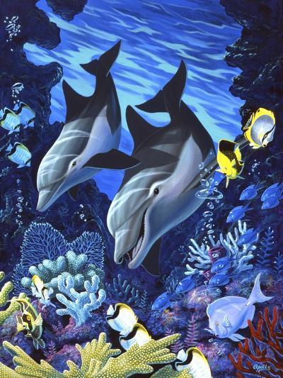 Treasures of the Sea II-Apollo-Giclee Print