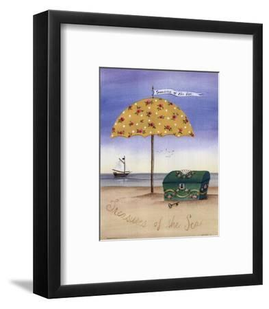Treasures Of The Sea-Katharine Gracey-Framed Art Print