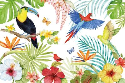 Treasures of the Tropics III-Kathleen Parr McKenna-Art Print