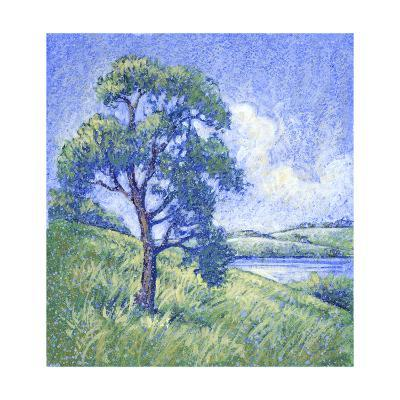 Tree by the Lake--Art Print