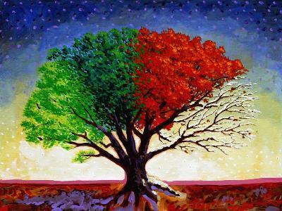 Tree For All Seasons-John Newcomb-Giclee Print