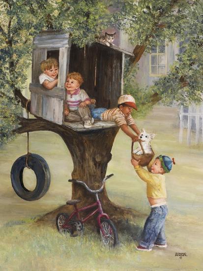 Tree House-Dianne Dengel-Giclee Print