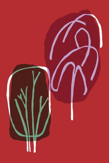 Tree Line I-Callie Crosby and Rebecca Daw-Giclee Print