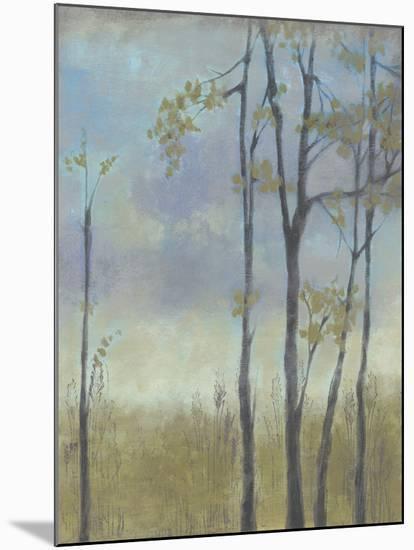 Tree-Lined Wheat Grass I-Jennifer Goldberger-Mounted Art Print