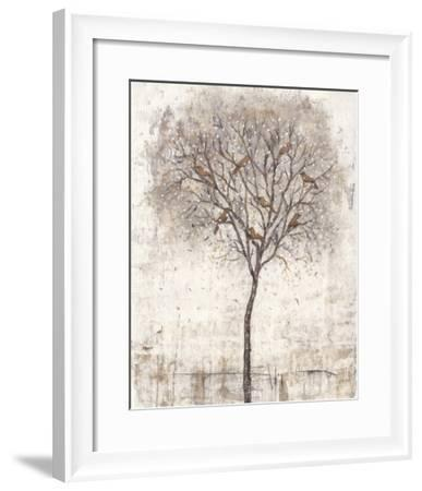Tree of Birds I-Tim O'toole-Framed Art Print