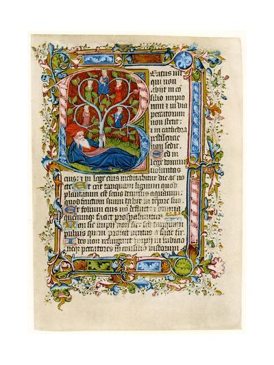 Tree of Jesse, Early 15th Century--Giclee Print
