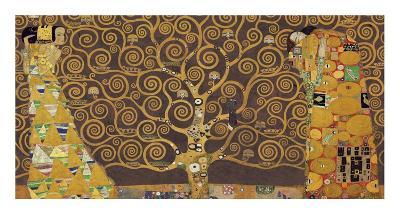 Tree of Life (Brown Variation) IV-Gustav Klimt-Art Print