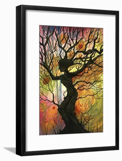 Tree of Life I-Cherie Roe Dirksen-Framed Giclee Print