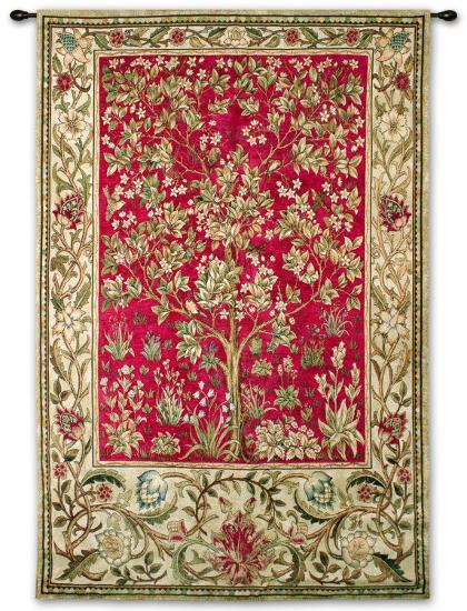 Tree of Life-William Morris-Wall Tapestry