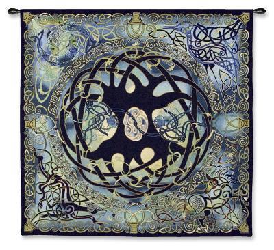 Tree of Life-Jen Delyth-Wall Tapestry
