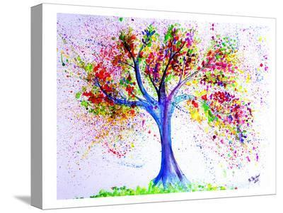 Tree Of Life-M Bleichner-Stretched Canvas Print