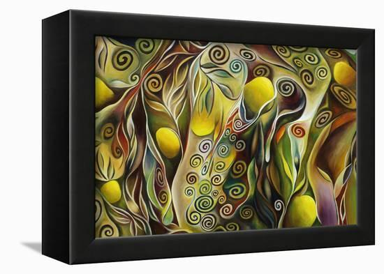 Tree Of Life-Hyunah Kim-Framed Stretched Canvas