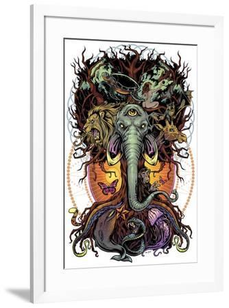 Tree of Life-FlyLand Designs-Framed Giclee Print