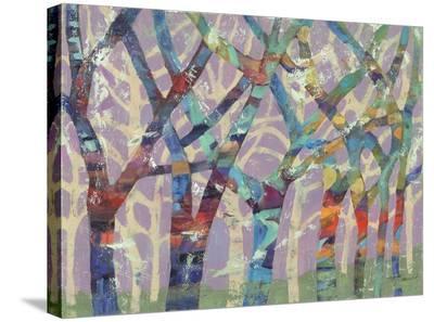 Tree Party II-M^J^ Beswick-Stretched Canvas Print