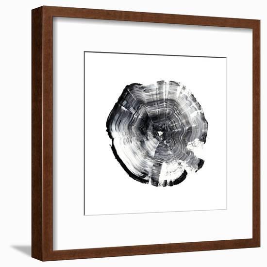 Tree Ring Abstract I-Ethan Harper-Framed Art Print