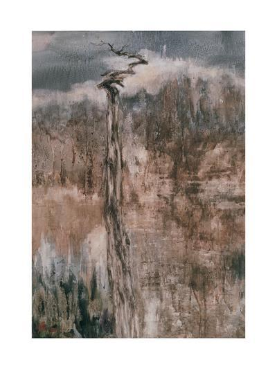 Tree's Spirit and the Reflection-Wanqi Zhang-Giclee Print
