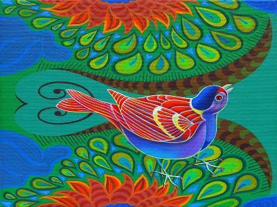 Tree Sparrow, 2012-Jane Tattersfield-Giclee Print